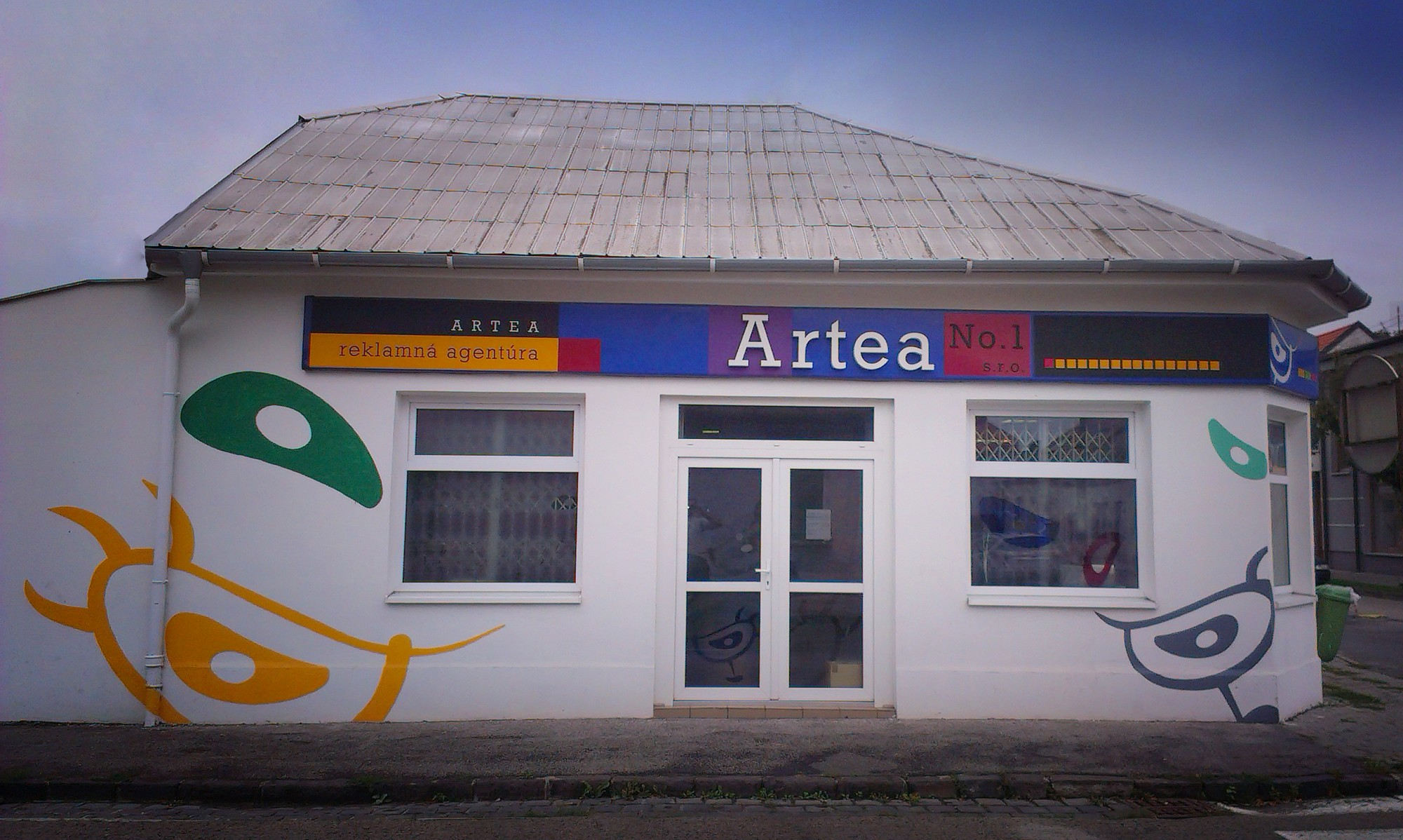 Artea - sídlo spoločnosti